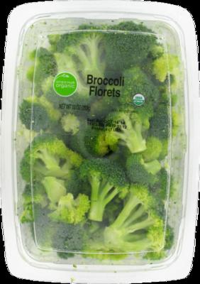Fresh Broccoli, Simple Truth Organic™ Broccoli Florets (10 oz Tray)