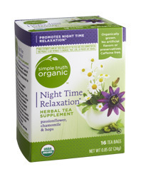 Tea, Simple Truth Organic™ Night Time Relaxation Herbal Tea Supplement