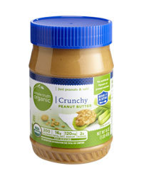 Organic Peanut Butter, Simple Truth Organic™ Crunchy Peanut Butter (16 oz Jar)
