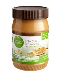 Organic Peanut Butter, Simple Truth Organic™ No Stir Crunchy Peanut Butter (16 oz Jar)