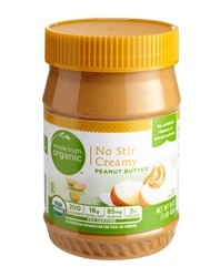 Organic Peanut Butter, Simple Truth Organic™ No Stir Creamy Peanut Butter (16 oz Jar)
