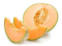 Fresh Melon, Organic Cantaloupe (Priced Each)