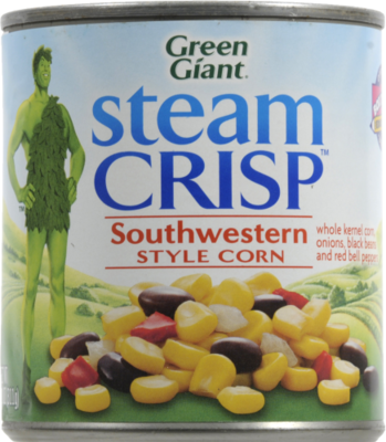 Canned Corn, Green Giant® Southwestern Style Corn (11 oz Can)