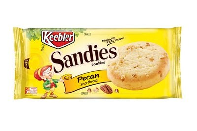 Cookies, Kellogg's® Keebler® Sandies® Pecan Shortbread Cookies (11.3 oz Bag)