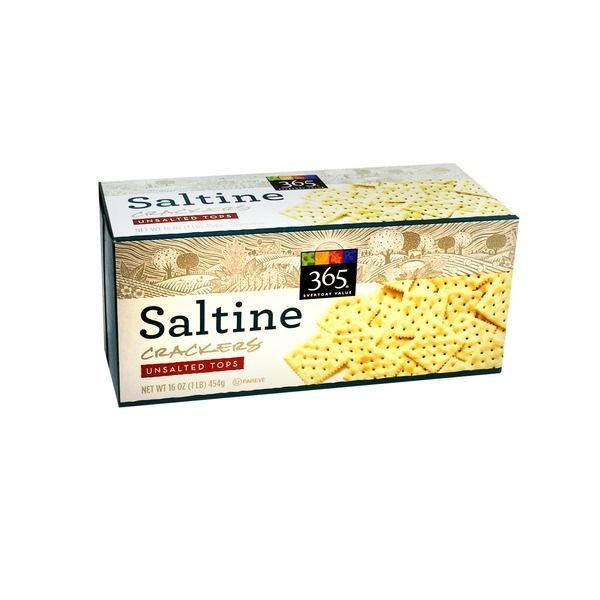 Saltine Crackers, 365® Unsalted Saltine Crackers (16 oz Box)