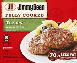 Fully Cooked Sausage Patties, Jimmy Dean® Sausage Patties