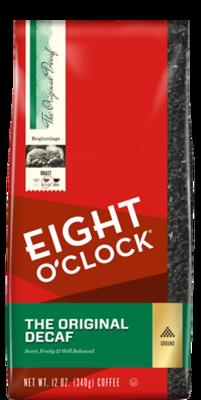 Ground Coffee, Eight O'Clock® Original Decaf Ground Coffee (12 oz Bag)