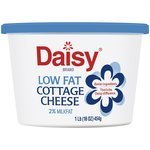Cottage Cheese, Daisy® 2% Lowfat Cottage Cheese (16 oz Cup)