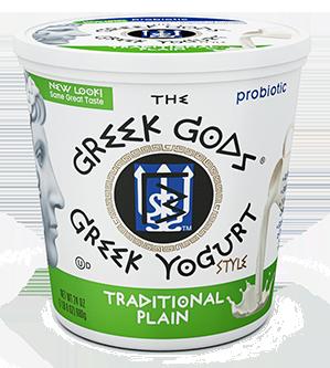 Yogurt, The Greek Gods® Traditional Plain Yogurt (24 oz Cup)