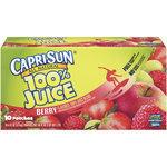 Juice Drink, Capri Sun® 100% Berry, Single 6 oz Packet