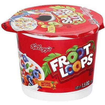 Cereal, Kellogg's® Froot Loops™ Cereal (1.5 oz Cup)