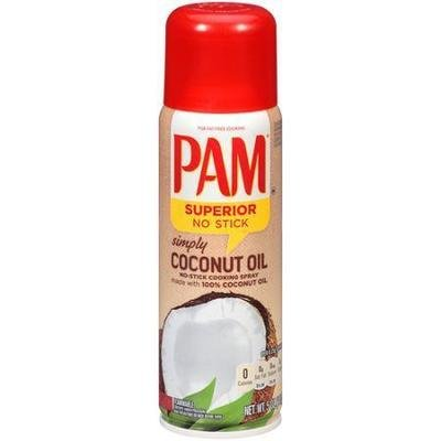 Cooking Spray, Pam® Cooking Spray with Coconut Oil (5 oz Spray Can)