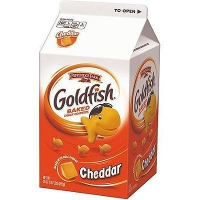 Goldfish Crackers, Pepperidge Farm® Goldfish® Cheddar Crackers (30 oz Carton)