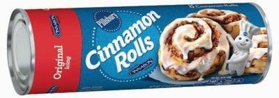 Cinnamon Roll Dough, Pillsbury® Cinnamon Rolls with Icing (12.4 oz Tube)