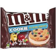 Ice Cream Bars, M&M's® Sandwiches, 4 oz Bag