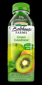 Juice Drink, Bolthouse Farms® Green Goodness® (15.2 oz Bottle)