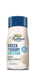 Salad Dressing, Bolthouse Farms® Bold Blue Cheese Greek Yogurt, 12 oz Bottle