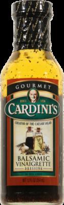 Salad Dressing, Cardini's® Balsamic Vinaigrette Salad Dressing (12 oz Bottle)