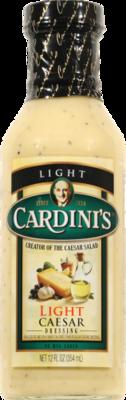Salad Dressing, Cardini's® Light Caesar Vinaigrette Dressing (12 oz Bottle)