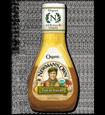Salad Dressing, Newman's Own® Organic Tuscan Italian Salad Dressing (16 oz Bottle)