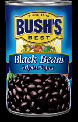 Canned Beans, Bush's® Black Beans (15 oz Can)