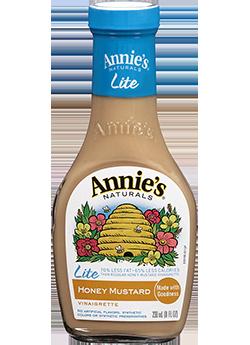 Salad Dressing, Annie's® Honey Mustard Vinaigrette Dressing, Lite (8 oz Bottle)