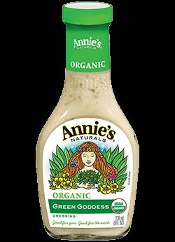 Salad Dressing, Annie's® Green Goddess Salad Dressing, Organic (16 oz Bottle)