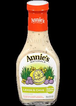Salad Dressing, Annie's® Lemon Chive Dressing (8 oz Bottle)