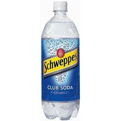 Club Soda, Schweppes® Club Soda (1 Liter Bottle)