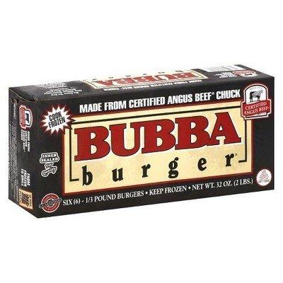 Frozen Hamburger, Bubba Burger® 32 oz Box (6 Burgers)