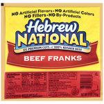 Hot Dogs, Hebrew National® Beef Franks, 8 Franks, 12 oz Bag