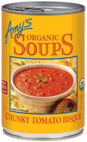 Canned Organic Soup, Amy's® Organic Chunky Tomato Bisque Soup (14.5 oz Can)