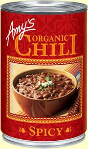 Chili, Amy's® Organic Spicy Chili (14.7 oz Can)