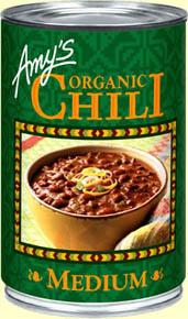 Chili, Amy's® Organic Medium Chili (14.7 oz Can)