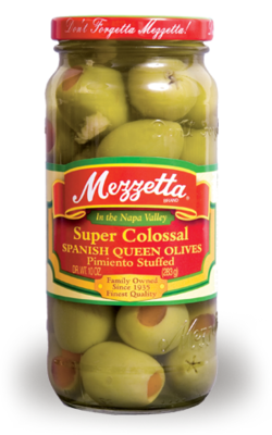 Preserved Olives, Mezzetta® Pimiento Stuffed Olives (10 oz Jar)
