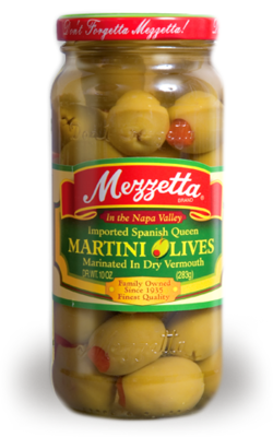 Preserved Olives, Mezzetta® Martini Olives (10 oz Jar)