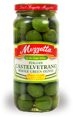 Preserved Olives, Mezzetta® Castelvetrano Olives (10 oz Jar)