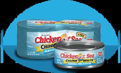 Canned Tuna, Chicken of the Sea® Chunk White Albacore Tuna in Water (18.5 oz Can)