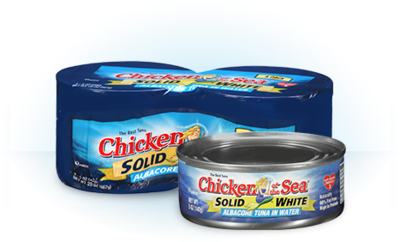 Canned Tuna, Chicken of the Sea® Solid White Albacore Tuna in Water (18.5 oz Can)