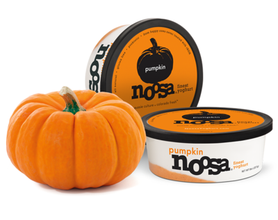 Yogurt, Noosa® Pumpkin Gluten Free Yogurt (8 oz Tub)