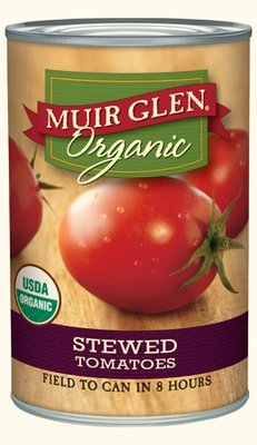 Canned Tomato, Muir Glen® Organic, Stewed Tomatoes (14.5 oz Can)