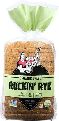 Loaf Bread, Dave's Killer Bread® Rockin' Rye (24 oz Bag)