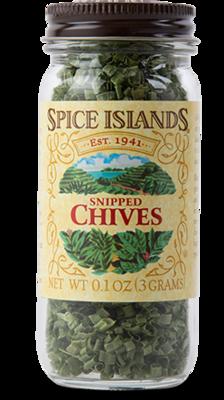 Seasonings, Spice Islands® Snipped Chives (.1 oz Jar)