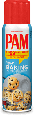 Cooking Spray, Pam® Cooking Oil Spray for Baking (5 oz Spray Can)