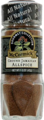 Seasonings, McCormick Gourmet® Ground Jamaican Allspice (1.50 oz Jar)