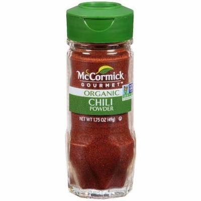 Seasonings, McCormick Gourmet® Chili Powder (1.75 oz Jar)