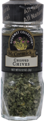 Seasonings, McCormick Gourmet® Chives (0.12 oz Jar)