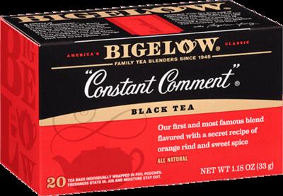 Tea, Bigelow® Black Tea, Constant Comment® 1.28 oz Box (20 Bags)