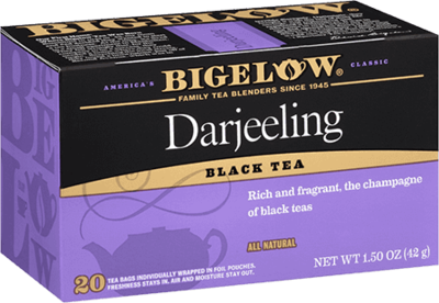 Tea, Bigelow® Black Tea, Darjeeling Tea® 1.28 oz Box (20 Bags)
