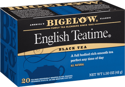 Tea, Bigelow® Black Tea, English Teatime® 1.5 oz Box (20 Bags)